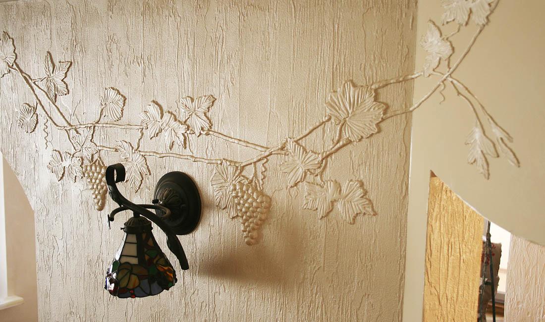 Художественная штукатурка для стен своими руками 18